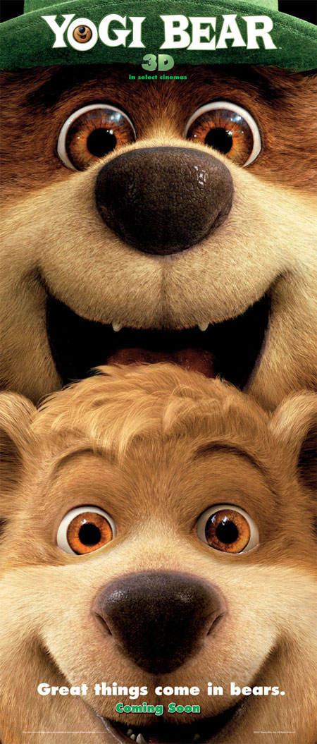 cine yogi bear poster Have your massage on site at Blue Moon Hotel for Men and enjoy free day pass ...