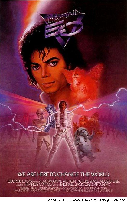 Disney confirma el regreso de Capitán EO a Disneyland Paris, Tokyo Disneyland y Walt Disney World Florida=='Captain EO' heading to more Disney parks: Disneyland Paris, Epcot y Tokyo Disneyland, Epcot, Walt Disney World Florida