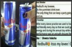 What takes up more space in your veins? Red Bull or blood?