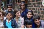 Soha Ali Khan celebrates Diwali with kids
