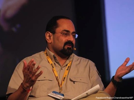 Musician, influencer, maverick: Rajeev Chandrasekhar