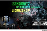 iSensobotz Workshop on ARDUINO at BVCOE