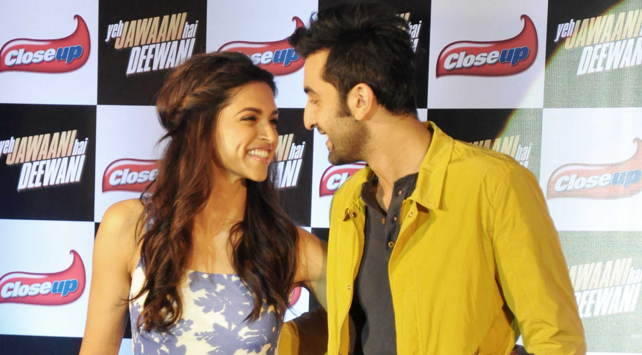 Ranbir and Deepika launch Close Up dental care products