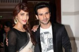 Shruti Haasan and Girish Kumar at music launch of 'Ramaiya Vastavaiya'
