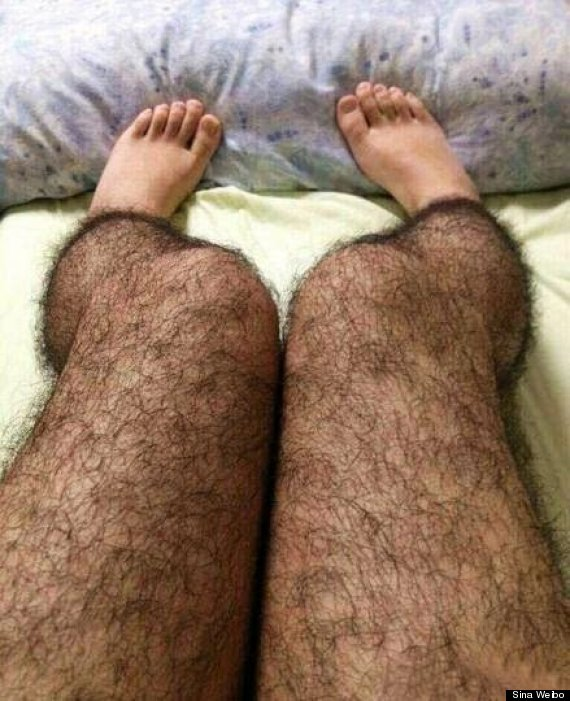 China's hair stockings may help scare off perverts
