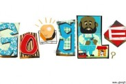 Father's Day as celebrated by Google Doodle