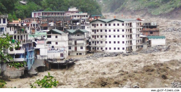 58 dead, over 58,000 trapped as rains batter Uttarakhand, UP