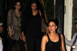 Saif Ali Khan, Kareena Kapoor and Elvira Khan snapped at a restaurant