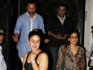 Saif Ali Khan, Kareena Kapoor and Elvira Khan spotted at a restaurant