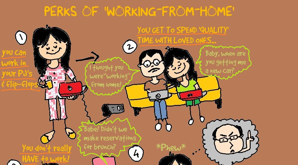 Why we love to work from home