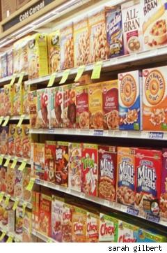 cereal aisle at new seasons