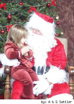 Santa and Savana