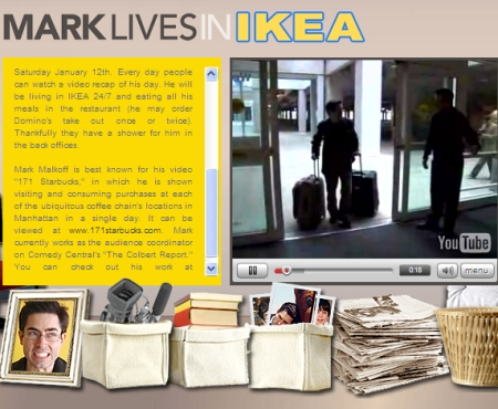 mark lives in ikea page