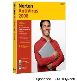 Norton anti-virus software