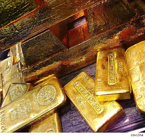 The price of gold has risen more than 50% in the last year.
