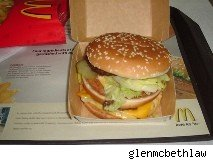 McDonald's Big Mac Burger