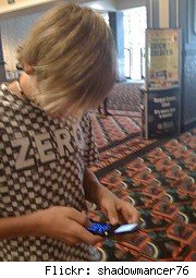cell phone kid