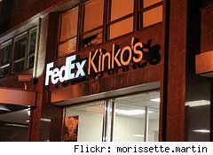 Fedex Kinkos Sign