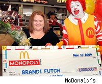 Massucci's Take: McDonald's Monopoly winner gets a sweet $1 million