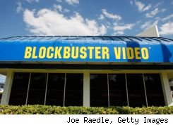 Free movie at Blockbuster Express