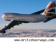 British Airways jet