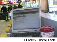 free Wifi at McDonalds