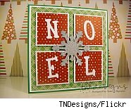 Noel Christmas card