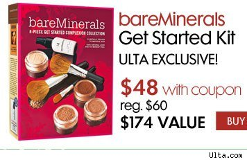 Can i use ulta coupon on bare minerals