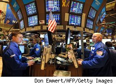 Stock market during earnings season