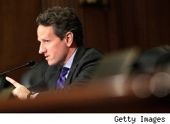 U.S. Treasury Secretary Geithner Hospitalized