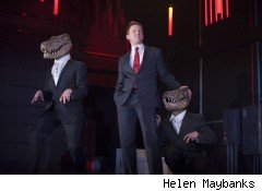 Enron, the musical, remains timely today in the wake of the Lehman Brothers collapse.