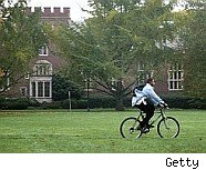 Schools offer bicycles to relieve congestion