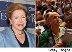 Suspense Queen Mary Higgins Clark Buys Seat on Chicago Board Options Exchange