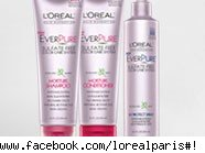 Free L'Oreal hair products