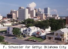 Oklahoma City a good place to ride out recession