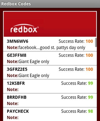 Red box coupon code