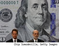 new $100 bill unveiled