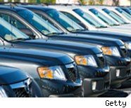 Easy car loans make it simple for consumers to but new cars like these