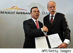daimler and Renault-Nissan