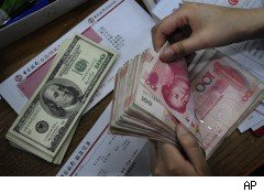 U.S. dollar and Chinese Yuan