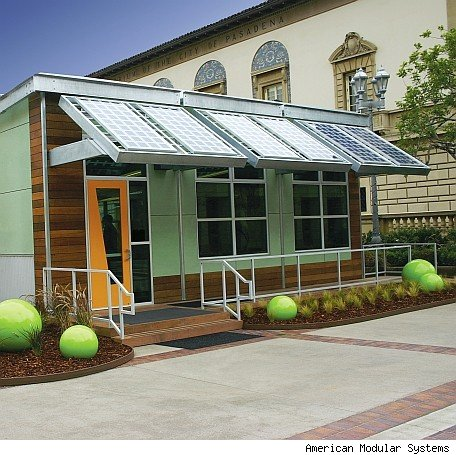 Green schools with blue denim insulation