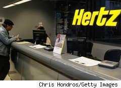 Analysts predict that the $1.2 billion merger of Hertz Global Holdings (HTZ) and Dollar Thrifty Automotive Group (DTG), No. 3 and 4 respectively based on revenue, may ultimately lead to fewer rental locations in an industry that has already raised prices. A Hertz rental counter is pictured above.