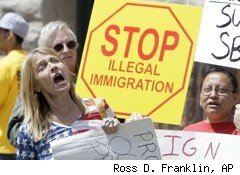 illegal immigration protests