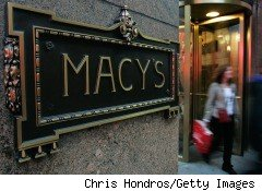 Feeling flush after a restructuring and promising a strong first quarter, Macy's, pictured right, raised its earnings targets for 2010 and plans to put more focus in its stores and products this year.