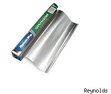 Free roll of recycled Reyold's wrap