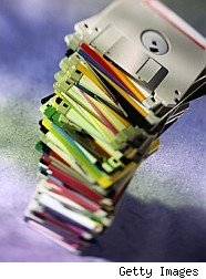 Floppy disks flop for the last time