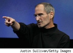 Steve Jobs, CEO of Apple Inc., is pictured here. Apple's new iPhone prototype is at the enter of a controversy about journalistic ethics and the return on lost, or stolen, property