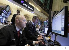 Traders at the NYSE