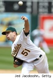 Dallas Braden perfect game Oakland A's