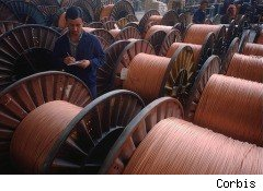copper manufacture